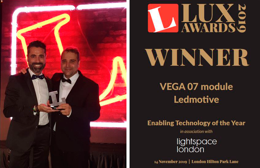 Ledmotive - Winner Lux Award 2019