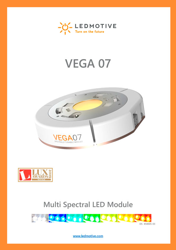 Ledmotive - Vega 07 LED Module Datasheet